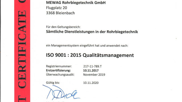MEWAG_ISO9001_2018